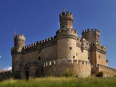 Landmark New Castle of Manzanares el Real