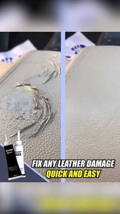 Leather Car Seats, Leather Repair, Home Fix, Boat Stuff, Car Hacks, Useful Life Hacks, Home Repair, Cool Gadgets, Good To Know