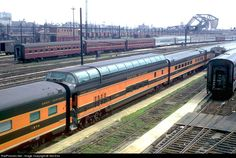 railroad passenger car photos | ... GN 1394 Great Northern Passenger Car at Chicago, Illinois by Ted Ellis