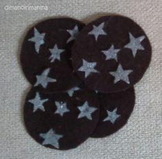 Felt biscuits: PanDiStelle