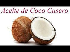 CÓMO HACER ACEITE DE COCO CASERO ♥ Anny Dalia - YouTube