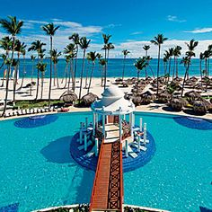 Top 10 All-Inclusive Caribbean Resorts | Dominican Republic: Paradisus Palma Real. See more at http://www.covetedition.com/ #luxuryhotels resorts #paradise.