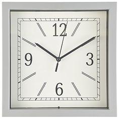 Wall Clock, 9 Inch Gray Square Wall Clock/Desk Clock- Qua... https://www.amazon.com/dp/B01INMNU30/ref=cm_sw_r_pi_dp_x_gX6Gyb30WMHKJ