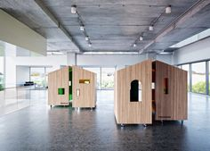 Treehouse Collaboration Pods by Dymitr Malcew