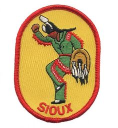Sioux Native American Patch Collectible Iron-On High Quality Stitching