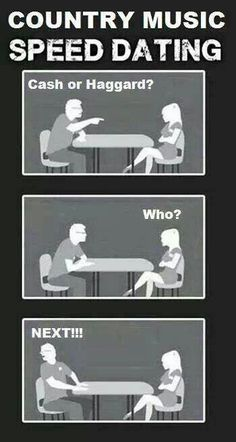Country music speed dating