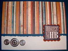 FS218 Masculine Birthday by ruby-heartedmom - Cards and Paper Crafts at Splitcoaststampers