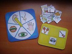 5 senses art projects for kindergarten - Preschool - Aluno On Senses Preschool, Body Preschool, Senses Activities, Preschool Learning, Kindergarten Activities, Learning Activities, Preschool Activities, Kids Education, Special Education