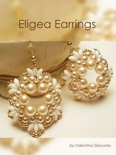 Eligea Earrings found inside DIY Jewelry Making Magazine #42