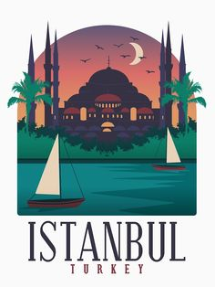 Skyline Art, Turkish Art, Turkey Travel, Star Wars Poster, Istanbul Turkey, Vintage Travel Posters, Fine Art Prints, Poster Prints, Europe