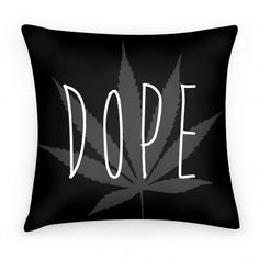 Original art on double-sided printed Pillows in spun polyester from recycled materials with hidden zipper. This weed pillow is great for lounging around and napping. Spare Room, My Room, Cannabis, Stoner Room, Hemp Leaf, Smoking Room, Things To Buy, At Least, Room Decor