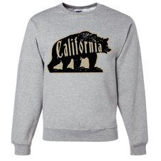 California Big Bear Crewneck Sweatshirt