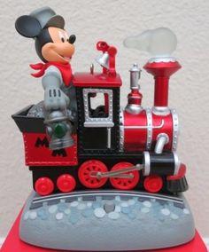 2017 Mickey's Magical Railroad Ornament Train - D23 EXPO