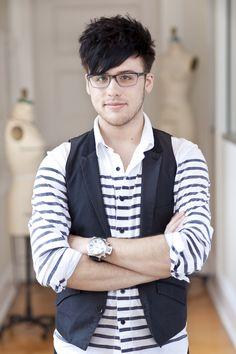 Blake Smith, B.F.A. fashion student, Hull, Georgia  http://www.scad.edu/fashionshow/  #SCADFashion
