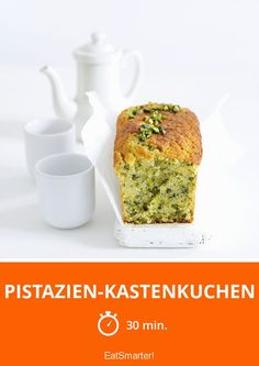 Leicht wie der Frühling! Pistazien-Kastenkuchen