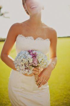 Hydrangeas...perfect for summer wedding