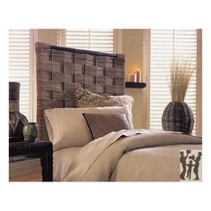 Woven Seagrass Queen Headboard Retail  $799 Our Price  $249