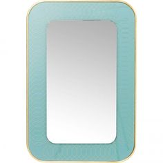 The perfect mirror brings dynamic possibilities to a room, investing it with space and style. Our ranges of wall mirrors offer a considerable variety Kare Design, Light Blue, Wall, Furniture, Mirror Mirror, Mirrors, Home Decor, Coins, Backgrounds
