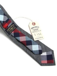 General Knot & Co - Japanese Shirting & Madison Check Necktie | VAULT