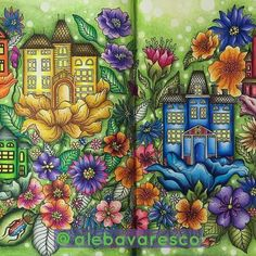 Olhem o que acabei de colorir, do livro #dagdrömmar #daydream #daydreaming #hannakarlzon #lovecolouring #alebavascolouring #polychromos #prismacolor #fabercastell #livrodecolorir #livrosdecolorir #mencoloring #artgrip #colorful #grupojardimsecreto #homenscolorindo #pintadaadois #uniball