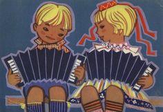 1966    Много в классе школьников —  ленинских внучат.  В школе октябрятские  песенки звучат.    Художник М. Фукс  Стихи З. Александровой