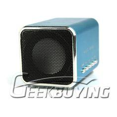 Music Angel Mini MP3 Speaker with U-Disk+Micro SD+TF card+FM $10.19