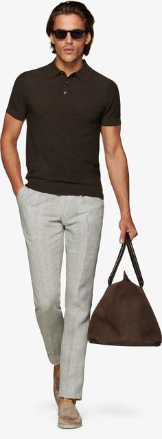Dunkelbraun Polo Sw1052 | Suitsupply Online Store