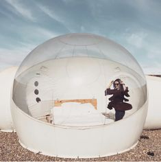 Bubble Tent, Snow Globes, Bubbles, Base, Future, Architecture, Polka Dots, Arquitetura, Future Tense