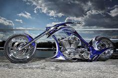 Sportster Chopper, Chopper Motorcycle, Motorcycle Design, Bike Design, Custom Choppers, Custom Harleys, Custom Motorcycles, Custom Baggers, Custom Street Bikes