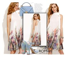 """Romwe Dress"" by almir-sahdan ❤ liked on Polyvore featuring Mark Cross"