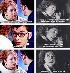I've been looking for this for a while. That little scene with River and Rory will break your hearts. - River Song is be far the most tragic character they've come up with yet.