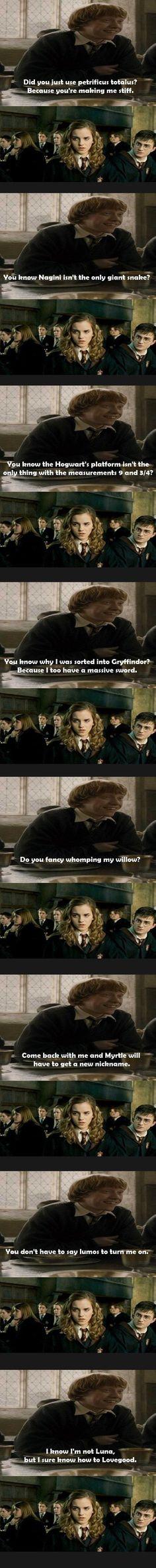 Hermione isn't impressed - Imgur