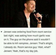 Jensen, your Dean is showing. ♥