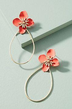 Mireille Floral Drop Earrings