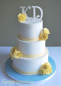 yellow white cake