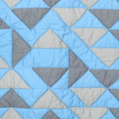 Camino Blue Quilt Full/Queen, $150, now featured on Fab.
