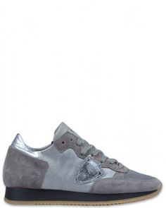 Philippe Model Tropez L D Damen Sneaker grau