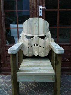 Everyone needs a storm trooper adirondack chair!