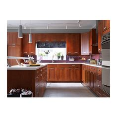 Best Beautiful Grimslov Medium Brown Ikea Kitchen Cabinets 400 x 300
