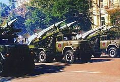 Military Trucks, Phnom Penh. Time unknown.