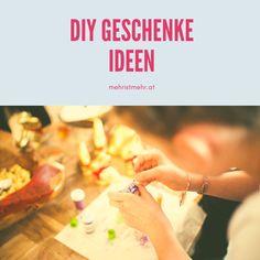 Ideen für selbstgemachte Geschenke! Basteln und DIY Blog, Diy Gifts, Diy Presents, Ideas, Blogging