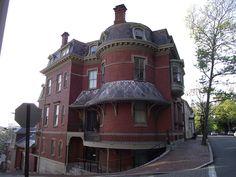 General Ambrose Burnside house in Providence, RI by I {heart} Rhody