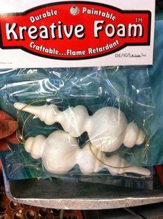finial foam shapes