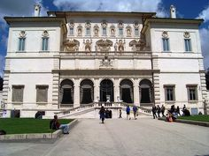 Galleria Borghese - One of the great museums of Rome, the Borghese Gallery was built as a villa for the prosperous Borghese Family. Today, it houses a spectacular art collection contains works of art from Roman times to the 18th Century. It is part of the Borghese Gardens in the Northeast of Rome.