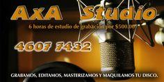 AxA RECORDS. STUDIO.