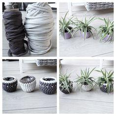 DIY Gehaakte plantenpotjes - Danielleaarts #zpagetti