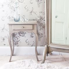 Normandy Shabby Chic Bedside Table by The French Bedroom Company