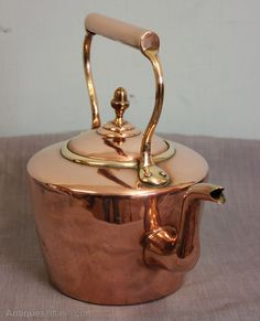 Antiques Atlas - Antique Victorian Copper Kettle