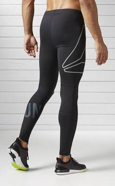 Reebok Running Legging Men's Black Running Pant