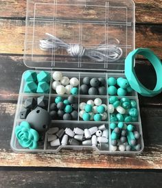 DIY teething necklace kit  Wholesale Silicone beads  DIY